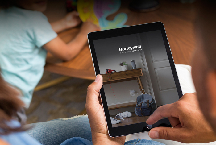 Honeywell Evohome app op tablet